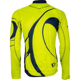 PEARL iZUMi Elite LTD Thermal LS Jersey Men big ip screaming yellow/navy